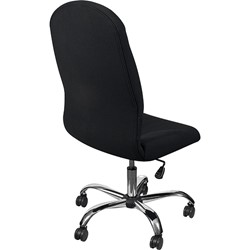 Olympus Big & Tall Fabric Executive Chair w/o Arms - Back view