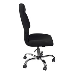 Olympus Big & Tall Fabric Executive Chair w/o Arms - Side view