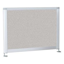 "Desktop Privacy Panel - Pebbles Vinyl Tackboard (21 1/2\"")"
