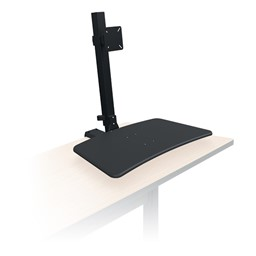 Up-Rite Desk Mounted Sit & Stand Workstation