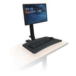 Balt Up Rite Rear Mounted Sit Amp Stand Workstation Single