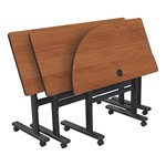 Adjustable-Height Flipper Training Table - Multiple units shown