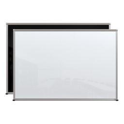 Framed Magnetic Glass Dry Erase Markerboard