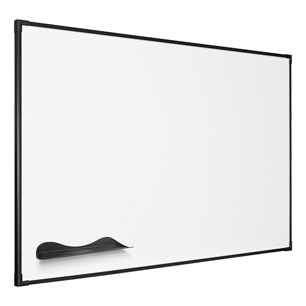 Ultra-Thin Frame Magnetic Markerboard w/ Black Frame