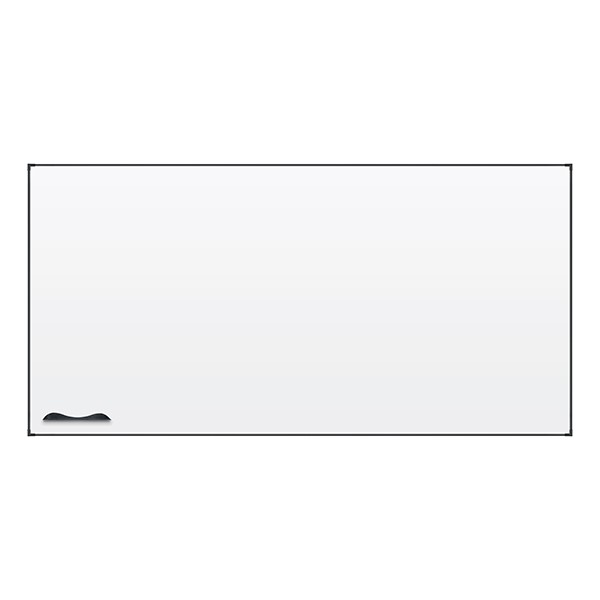 Ultra-Thin Frame Magnetic Markerboard w/ Black Frame
