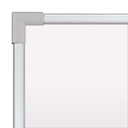 Ultra-Thin Frame Magnetic Markerboard w/ Silver Frame
