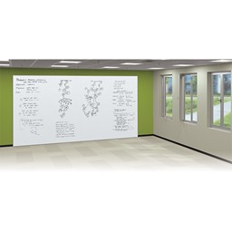 Sharewall Spline Full Wall Whiteboard Panel System