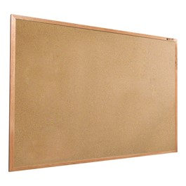 Valu-Tak Natural Cork Board w/ Wood Frame