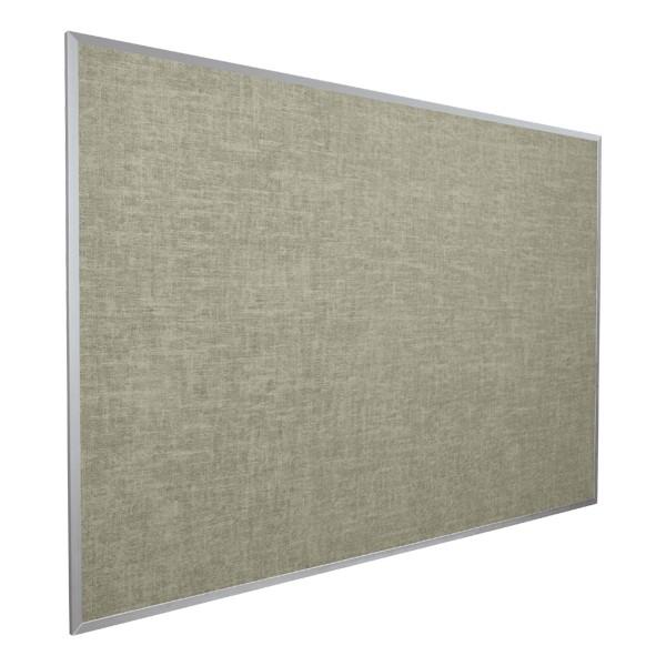 Vinyl-Covered Tackboard - Shown in gray
