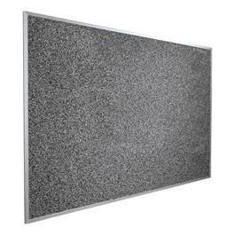 Rubber-Tak Tackboard w/ Aluminum Frame