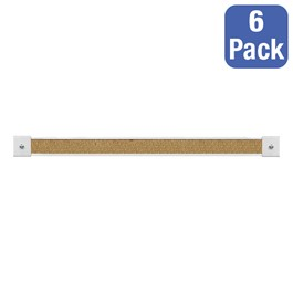 "2"" Map Rails (4\' L) - Pack of Six - Natural"