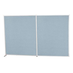 5' H Modular Fabric Panel<BR>Starter unit & adder unit shown (sold separately)