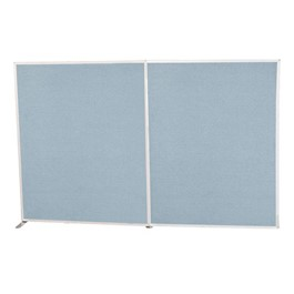 6\' H Modular Fabric Panel<BR>Starter unit & adder unit shown (sold separately)