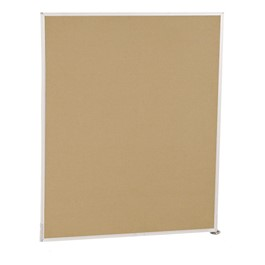 5\' H Modular Fabric Panel - Adder Unit (5\' L)
