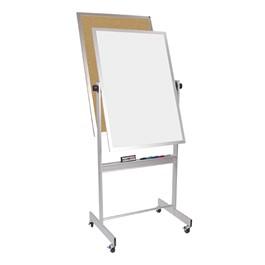 Magnetic Markerboard/ Corkboard w/ Aluminum Frame