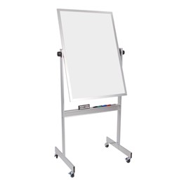 Double-Sided Magnetic Dry Erase Board w/ Aluminum Frame
