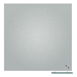 Visionary Magnetic Projection Matte Gray Glass Whiteboard