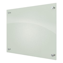 Enlighten Frosted Pearl Glass Dry Erase Board (4\' W x 3\' H)