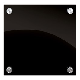 Enlighten Black Glass Dry Erase Board