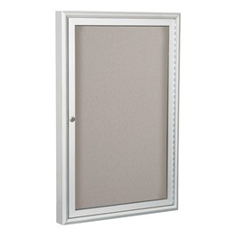 Enclosed Vinyl Tackboard w/ One Door