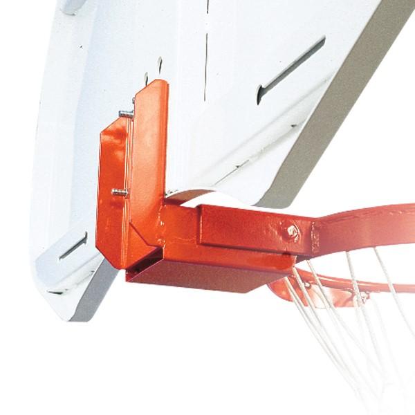 Heavy-Duty Basketball Goals - Rear-Mount