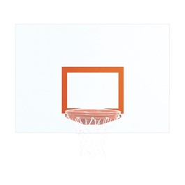 Playground Steel Backboard – Solid