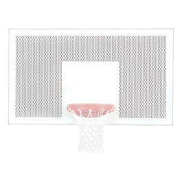 Playground Steel Backboard - Perforated