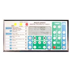 Back Control Panel of Portable Wireless Remote Scoreboard