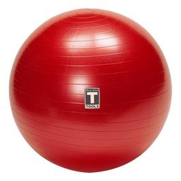 Burst-Resistant Exercise Ball - Red (65 cm)