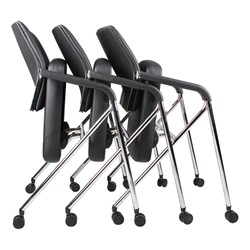 CaressoftPlus Nesting Chairs - Shown nested