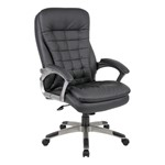 High-Back Executive Pillow-Top Chair