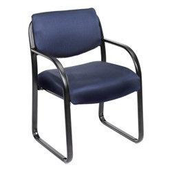 Fabric Guest Chair - Blue