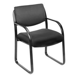 Fabric Guest Chair - Black