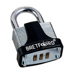 Tech-Guard Resettable Combination Padlock