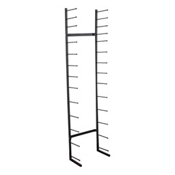 High-Capacity Blueprint Storage Rack - 13 Openings - Empty