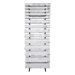 High-Capacity Blueprint Storage Rack - 13 Openings - Loaded
