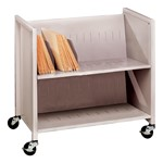 Medical Cart w/ Slanted Shelves