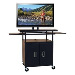 Adjustable Steel Flat Panel Cart