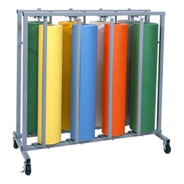 Eight Roll Vertical Paper Rack