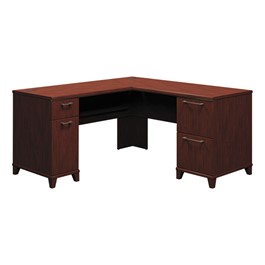 "Enterprise Series Double Pedestal L-Shaped Desk (60"" W x 60\"" D)"