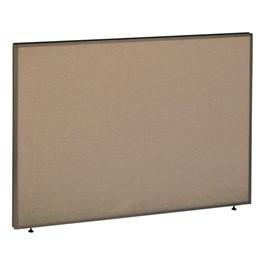 ProPanel Cubicle Panel - Harvest tan w/ taupe trim