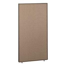 ProPanel Cubicle Panel - Harvest tan w/ taupe trim