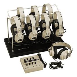 2924AVP Headphones w/ Jack Box, Storage Rack & Cover