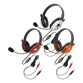 Animal Preschool Headphones w/ Mic