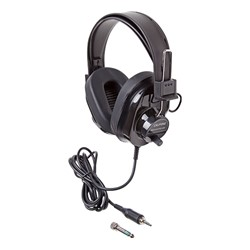 Deluxe Stereo Headphones - Black