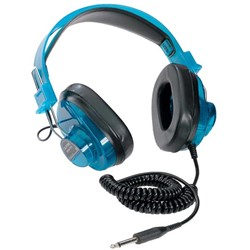 Deluxe Stereo Headphones - Blue