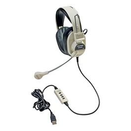 3066AV Deluxe Stereo Headset w/ USB Plug