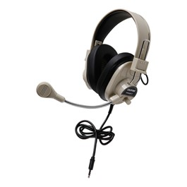 Deluxe Stereo Headset w/ Mobile-Ready Plug