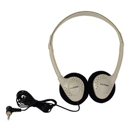 Personal Stereo Headphones<br>Shown w/ storage bag