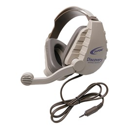 Discovery Stereo Headset w/ Mobile-Ready Plug